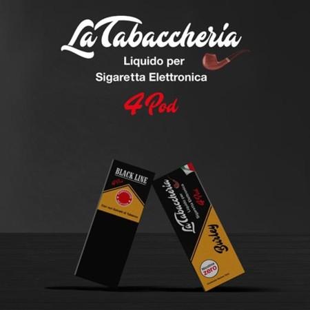 BURLEY BLACK LINE 4POD LA TABACCHERIA LIQUIDO PRONTO