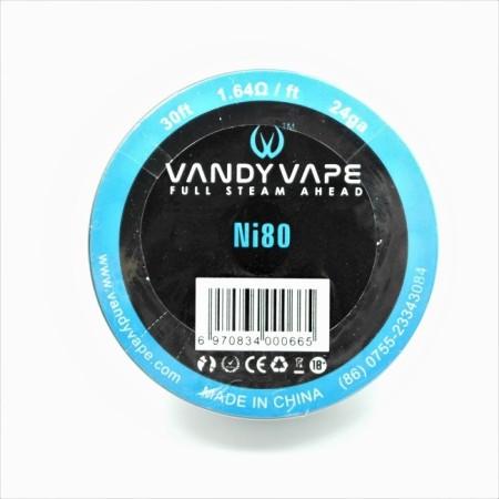 FILO NICHROME NI80 24GA VANDY VAPE