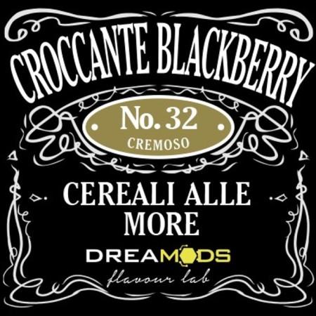 32 CROCCANTE BLACKBERRY AROMA 10 ML DREAMODS