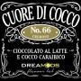 66 CUORE DI COCCO AROMA 10 ML DREAMODS