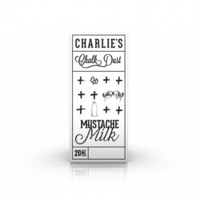 WHITE MUSTACHE MILK CONCENTRATO 20 ML CHARLIE'S