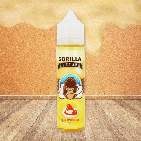STRAWBERRY CONCENTRATO 20 ML GORILLA CUSTARD