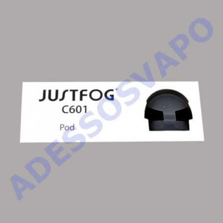 POD TESTINA RICAMBIO 1,6 OHM 1,7ML C601 JUSTFOG