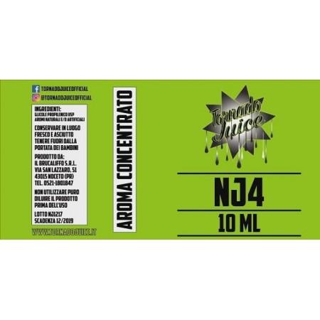 NJ4 AROMA 10 ML TORNADOJUICE