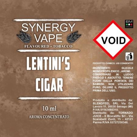LENTINI'S CIGAR SYNERGY VAPE AROMA 10 ML TORNADO