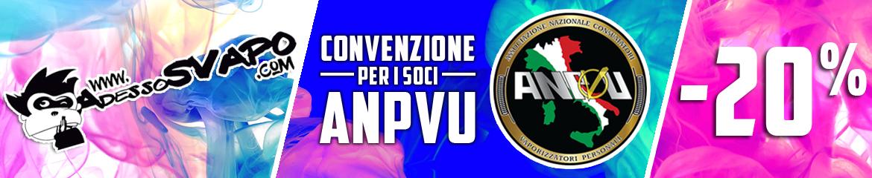 promozione sconto 20% per gli associati ANPVU